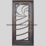 2018 portelli di entrata ornamentali del ferro dell'oscillazione dei commerci all'ingrosso doppi