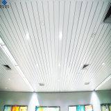 prix d'usine ISO en aluminium peint de couleur en forme de U formée de rouleau faux plafond