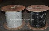 Singelmode gepanzertes Duplexfaser-Kabel mit Belüftung-Umhüllung
