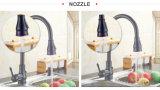 Grifo de cobre amarillo de la cocina de los accesorios extensibles del cuarto de baño con la certificación