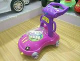 Giro de brinquedos para crianças Aluguer de carro de torção do bebé