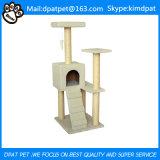Umweltfreundliches Merkmal und Katze-Anwendungs-sehr großes Katze-Baum-Haus