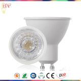 Projecteur à LED LED en aluminium moulé GU10 avec ampoule en usine