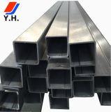 Tubo rettangolare superiore dell'acciaio inossidabile 304