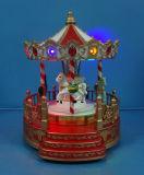 """12""""rotatif à LED avec le mouvement de Roue Ferris et huit chansons de la musique pour comme cadeau de Noël"""