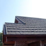 Dessus plat feuille de métal de tuiles de toiture tuile de toit en acier galvanisé