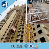 Grua do edifício da construção dos passageiros dos materiais do inversor da freqüência
