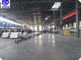 PE/PVC/BOPP/LDPE Film de protection de couleur noir et blanc/film adhésif pour plaque de composites en aluminium