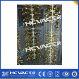 Golden Color Coating PVD Machine / Vacuum Metallizing PVD Machine para plástico / vidro / cerâmica