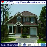 Вилла Prefab дома стальной рамки низкой стоимости светлая модульная