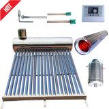 コンパクトな太陽給湯装置(太陽暖房装置のコレクター)