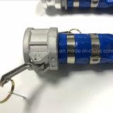 Refuerzo de fibra Layflat PVC flexible, adecuado para el riego por goteo