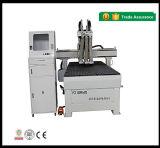 Máquina de madeira do router do CNC da multi tabela do vácuo das cabeças