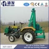 Буровая установка установленная трактором и машина Hf100t 120m