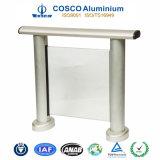 Круглая форменный алюминиевая загородка с стеклом для снабжения жилищем