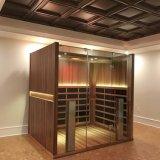 方法タイプトウヒの木製の乾燥した赤外線サウナ部屋