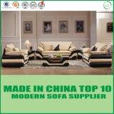 Sofá de couro moderno do sofá novo da sala de visitas do projeto 2016