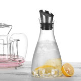 Abgeschrägter kaltes Wasser-Kessel-Trinkwasser-Potenziometer-hitzebeständige Glaswasser-Krüge