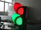 交通安全300mmの赤い緑色航法燈LEDの交通信号ライト