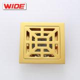 Fábrica de Jiangmen Golden planta cubierta de drenaje sanitario 4 pulgadas de ancho de la trampa de piso