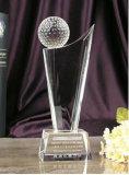 Пожалование трофея гольфа кристаллический при приветствованный OEM