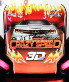 Hot Sale Car Racing Game Machine Crazy Speed ​​3D
