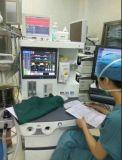 Beweglicher Human&Vet Anästhesie-Maschinen-Preis mit einem Entlüfter