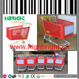 Metal Shopping Cart Coin Lock pour Supermarket Shopping Trolley