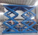 Plate-forme hydraulique de véhicule des ciseaux 3000kg de levage de véhicule de stationnement avec du CE
