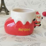 Promotional Christmas Gift Cup Ceramic Christmas Cup