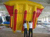 6 Лицо надувные лодки 420см летучих рыб банан катера для продажи