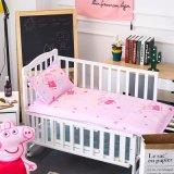 Pflanzenschule-Bettwäsche-Set organische Baumwolledes kundenspezifischen Deisgn Babys