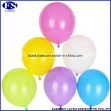 Runde Standardfarben-natürliche Latex-Ballone für Dekoration