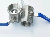 """Valvola a sfera del filetto dell'acciaio inossidabile 1PC Q11f-16p (1/2 """" - 3 """")"""