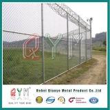 50X50によってmmは庭の高い安全性のチェーン・リンクの塀が家へ帰る