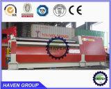 PLATTEN-Verbiegenund Walzen-Maschine der Rollen-W12S-6X4000 4 Stahl