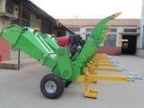 fábrica Chipper de la desfibradora del registro de madera del diámetro de los 20cm con la certificación del Ce