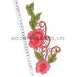 方法昇進の花のアップリケは飾られた縫うアクセサリの刺繍パッチに着せる