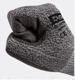 Отрежьте упорной уровень покрынный ладонью перчаток PU серого цвета отрезока 5