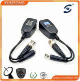 passiver Verbinder-VideoBalun des Sicherheit 1CH CCTV-UTP männlicher twisted- pairBNC