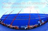 Тележка тележки конкретного насоса тавра 38m Jiuhe/насоса заграждения с аттестацией Ce&ISO