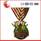 Venta de souvenirs de metal caliente medalla personalizado para la promoción
