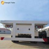 40ft 3 Wellen-Chassis-Flachbettbehälter-Schlussteil für Muti-Verbrauch