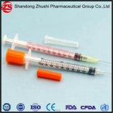 Seringa especial estéril garantida cuidados médicos de venda superior 0.5ml do Insulin da injeção do Insulin