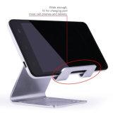 suporte do carrinho do telefone de pilha do iPhone 8 para o interruptor, carrinho Android do telefone da mesa cobrando de Smartphone