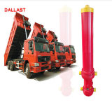 팁 주는 사람 트럭 차량을%s 단 하나 작동 주문을 받아서 만들어진 플런저 유압 기름 실린더