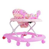 Caminante del bebé de 8 ruedas con la buena venta al por mayor del asiento del caminante del bebé