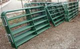 1800mm x 2100mm 6 панелей скотного двора рельсов