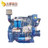 Weichai Nuevo wp4 120CV motor marino Deutz con alta velocidad de 88kw