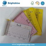 2 papel de copiado sin carbono de la capa 55g para la forma de la factura